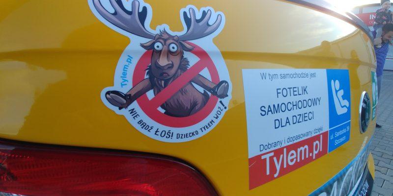 Taksówka z fotelikiem samochodowym – Szczecin