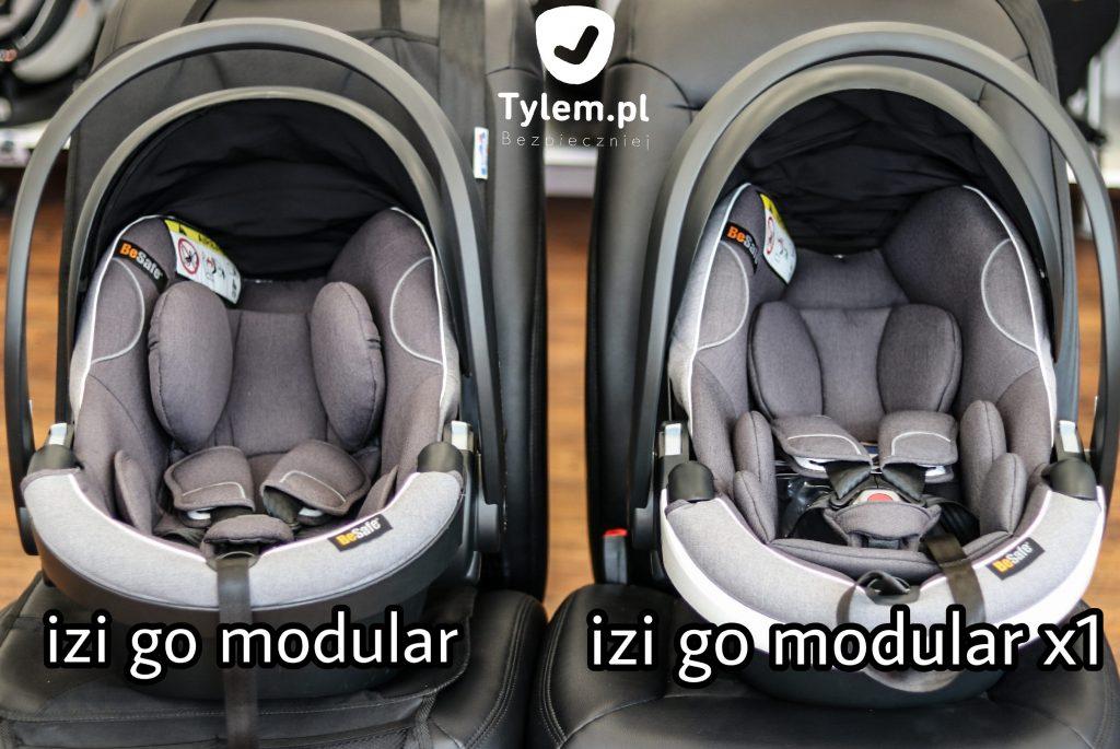 Besafe izi Go Modular vs izi Go Modular X1